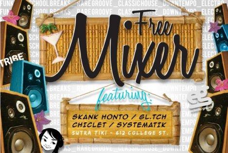 Free Mixer - June