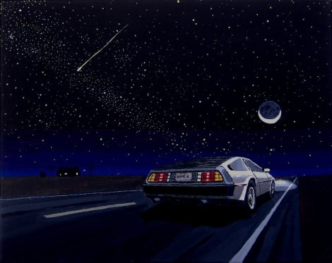 DeLorean_4___Night_Drive_by_DeloreanREB